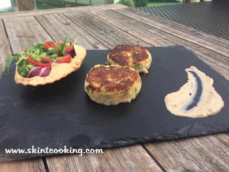 Spicy crabcakes